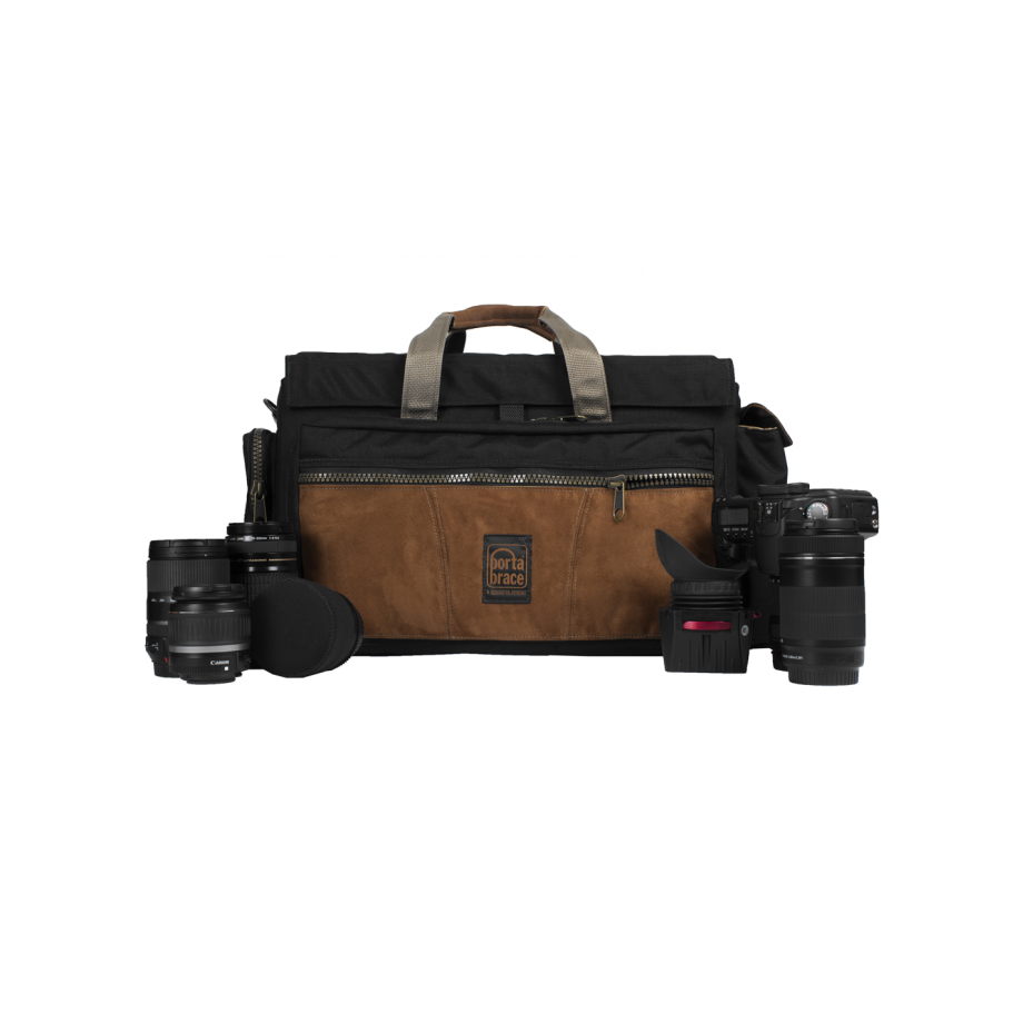 Porta Brace CS-DV4/DC Camera Case Soft, Compact HD Cameras,Director's Cut, XL