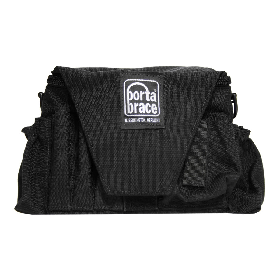 Porta Brace ACB-3B Assistant Cameraman Pouch & Belt, Black