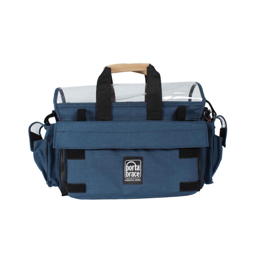 Porta Brace AO-2X Audio Organizer, Multiple Setups, Large, Blue