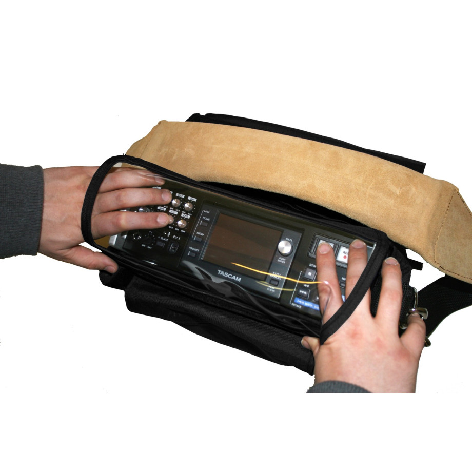 Porta Brace AR-P82 Audio Recorder Case, Tascam HS-P82, Black