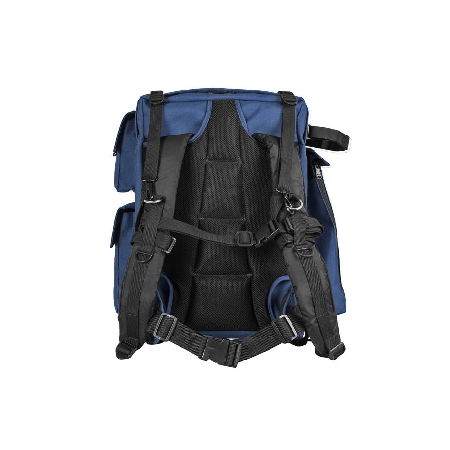 Porta Brace BC-2N Backpack Camera Case, DSLR Cameras, Large, Blue