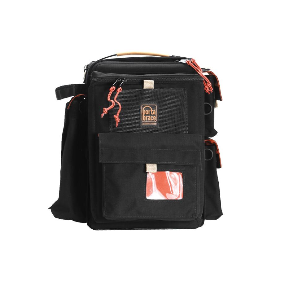 Porta Brace BK-1NRQS-M3 Backpack Camera Case, Rigid Frame Shell, Black
