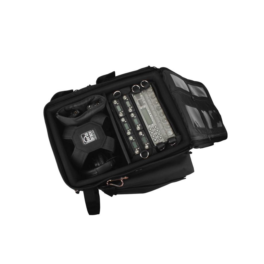 Porta Brace BK-2AUD Audio Equipment Backpack, Rigid Frame, Black