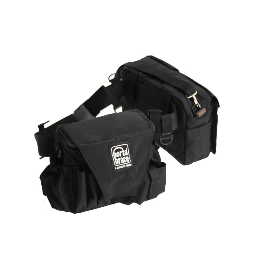 Porta Brace BP-3B Belt-Pack, Black, Large
