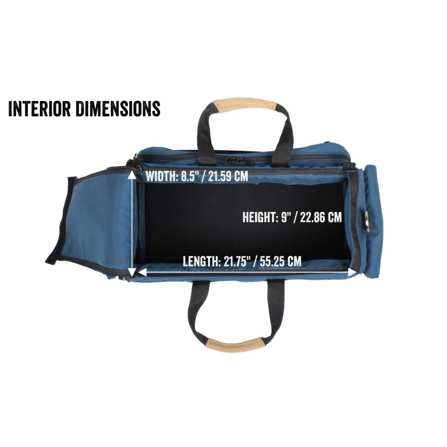 Porta Brace CAR-3 Cargo Case, Blue, Large
