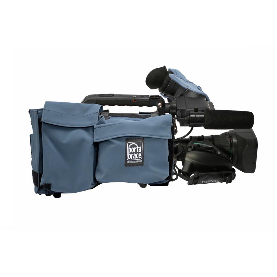 Porta Brace CBA-HPX370 Camera BodyArmor, Panasonic AG-HPX370, Blue