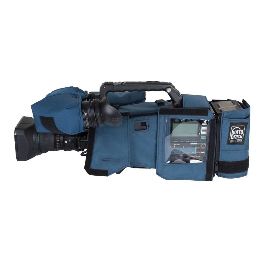 Porta Brace CBA-HPX600 Camera BodyArmor, Panasonic AG-HPX600, Blue