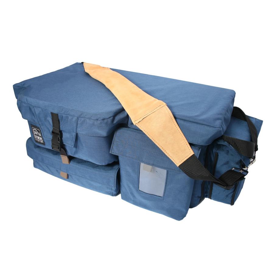 Porta Brace CC-22-PW Quick Draw, ENG Camera Case, Rigid Frame, Blue
