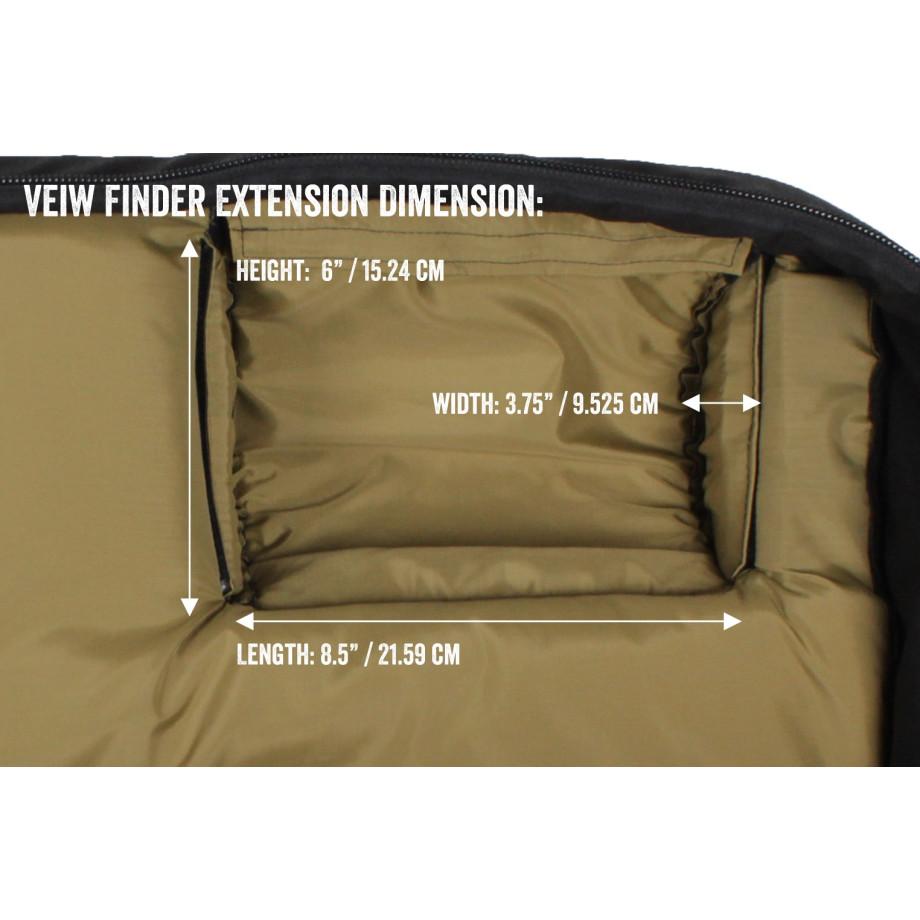 Porta Brace CO-OBB Carry-On Camera Case, Shoulder Mount Cameras, Black