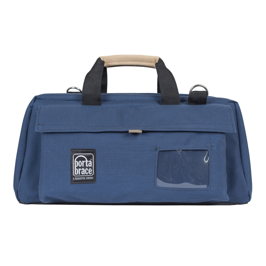 Porta Brace CS-DC3U Camera Case Soft, Compact HD Cameras, Blue, Large