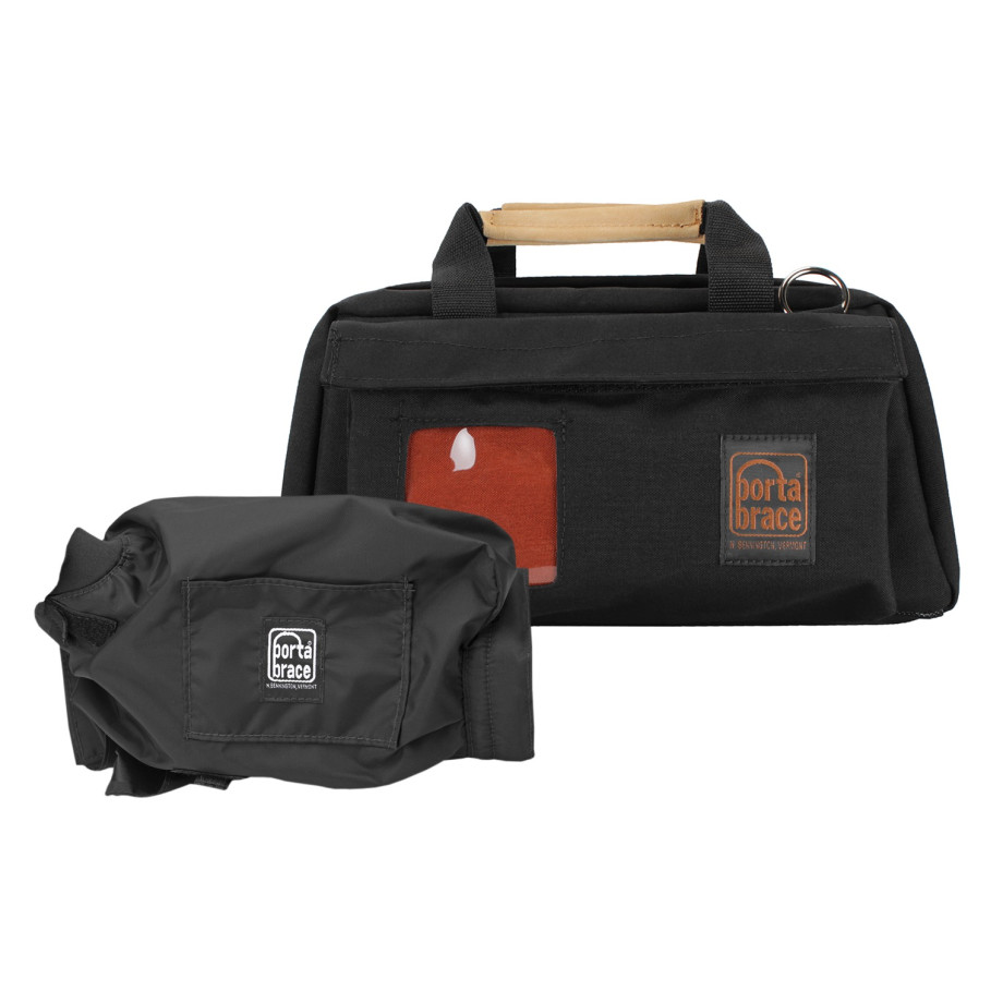Porta Brace CS-DV2RQS-M2 Camera Case Soft, Black, Medium