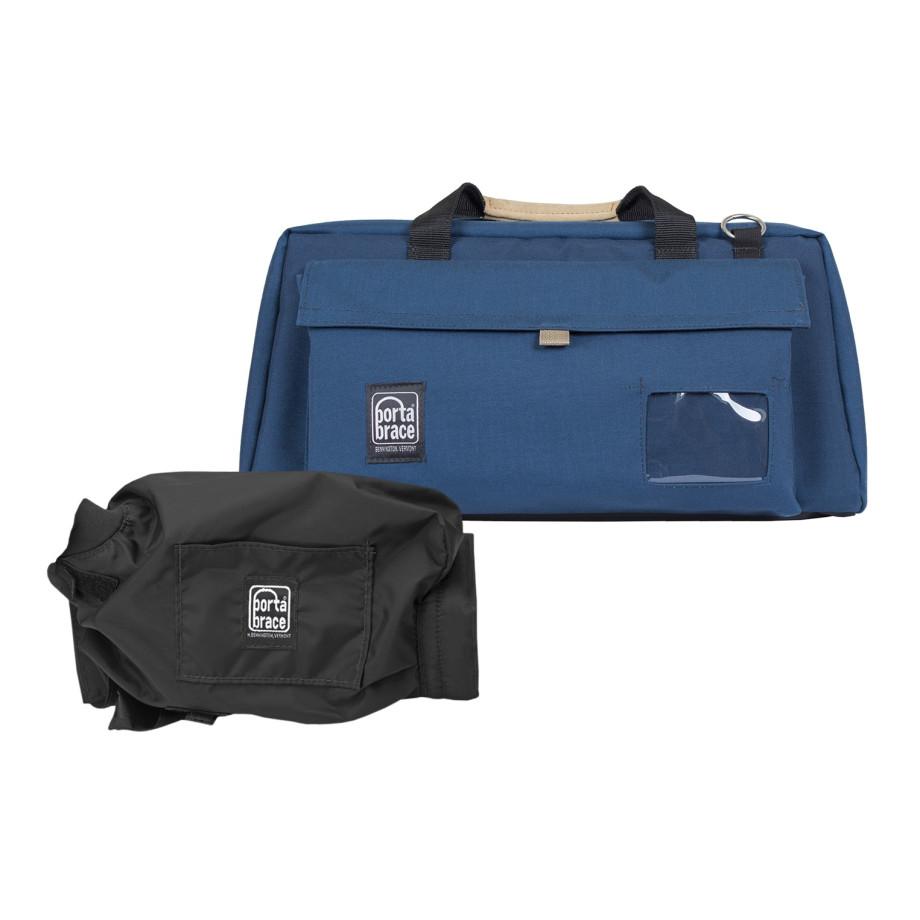 Porta Brace CS-DV4UQS-M2 Camera Case Soft, Blue, XL