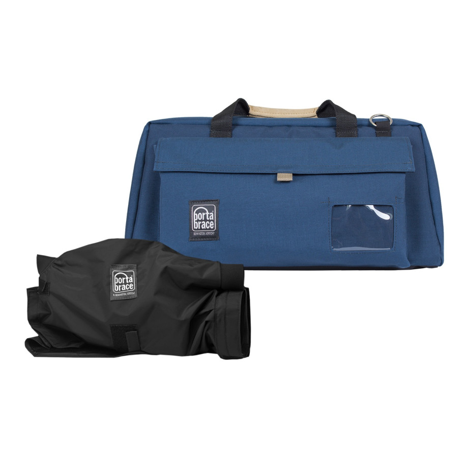 Porta Brace CS-DV4UQS-M3 Camera Case Soft, Blue, XL