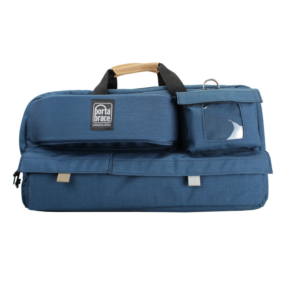 Porta Brace CTC-3 Traveler Camera Case, Blue, Large