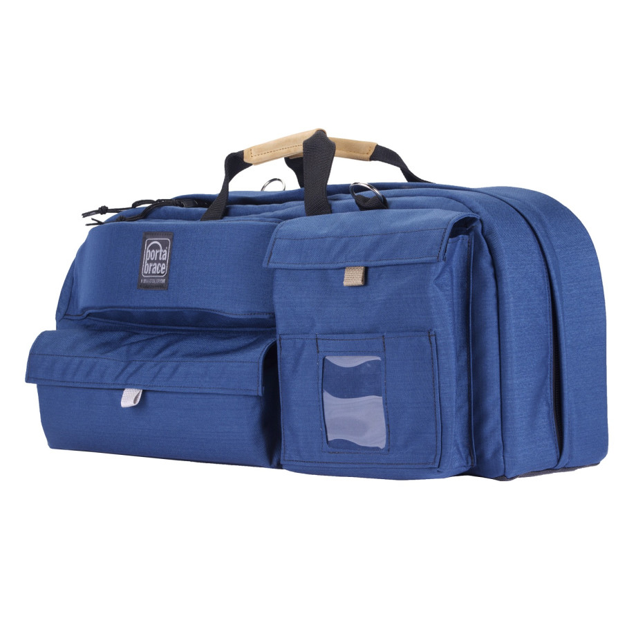 Porta Brace CTC-4 Traveler Camera Case, Blue, XL