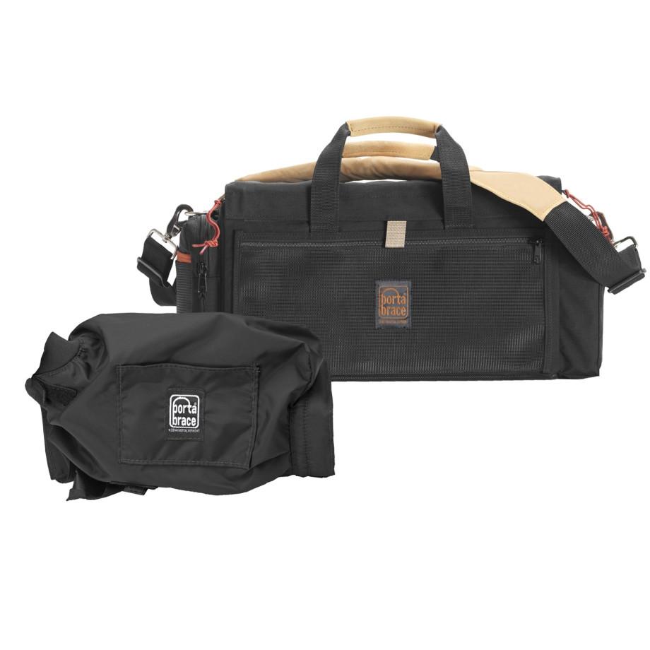 Porta Brace DVO-1RQS-M2 Digital Video Organizer, Black, Small
