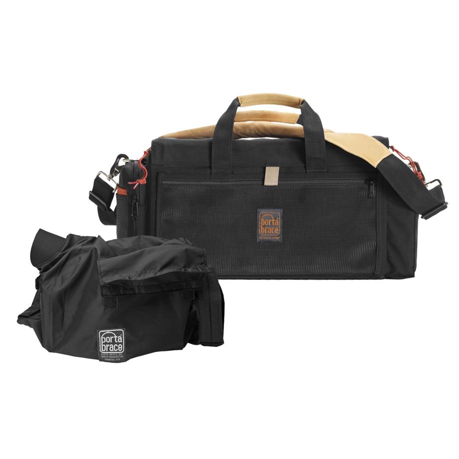 Porta Brace DVO-1RQS-M4 Digital Video Organizer, Black, Small