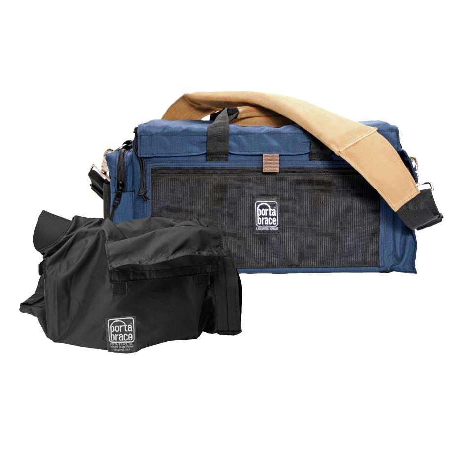 Porta Brace DVO-1UQS-M4 Digital Video Organizer, Blue, Small