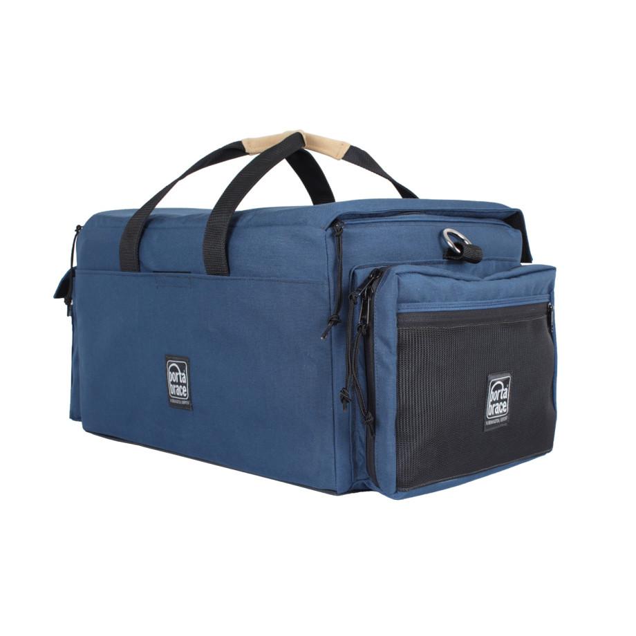 Porta Brace DVO-3UQS-M3 Digital Video Organizer, Quick-Slick Rain Protection Included, Blue, Large