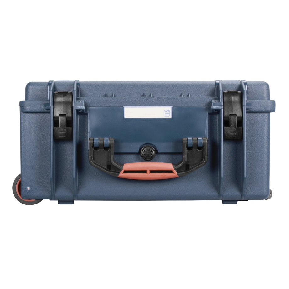Porta Brace PB-2650F Hard Case with Wheels, Airtight, Large, Blue