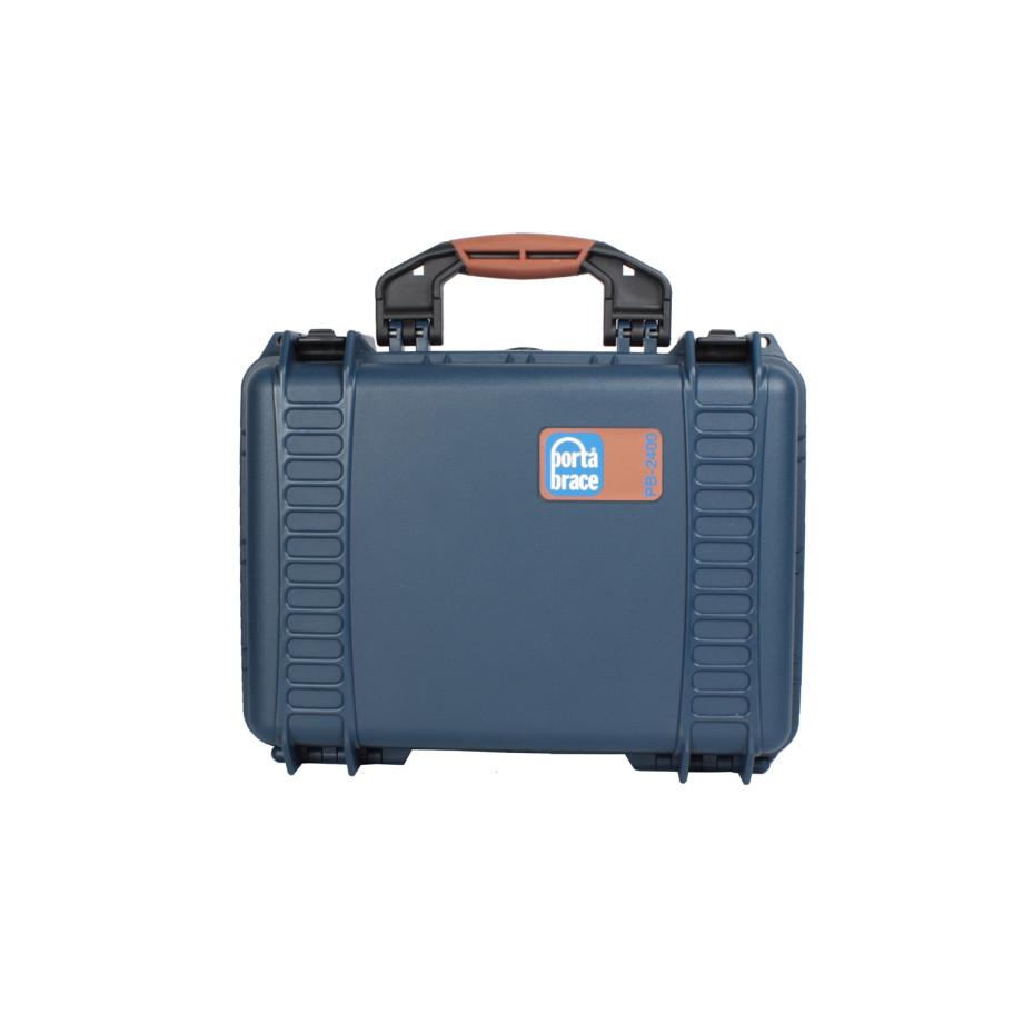 Porta Brace PB-24LENS46 Hard Case, Blue