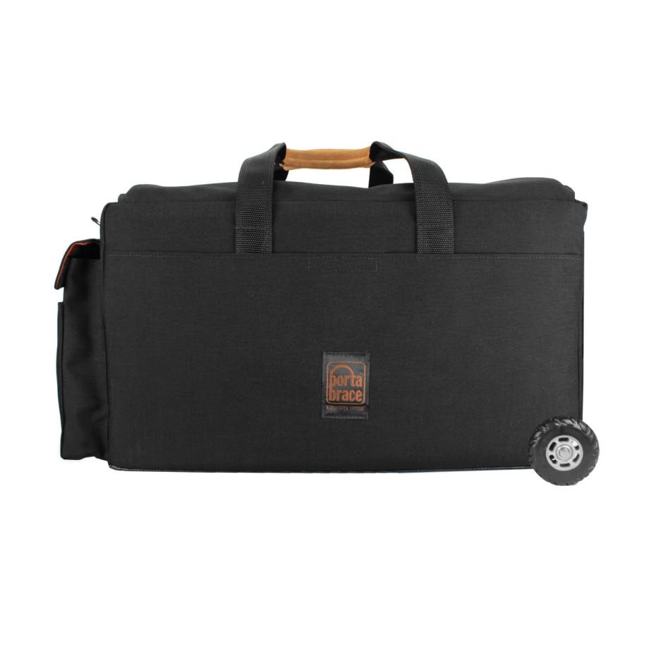Porta Brace DCO-3ROR Digital Camera Organizer, Wheels, Rigid Frame, Black, Large