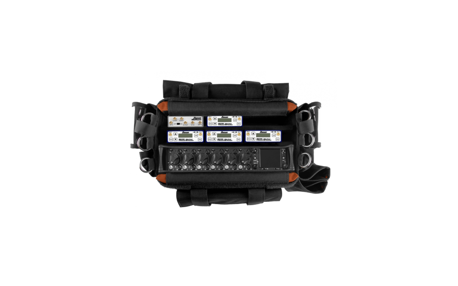 Porta Brace AO-4WT/664 Audio Organizer, Sound Devices 664, Black