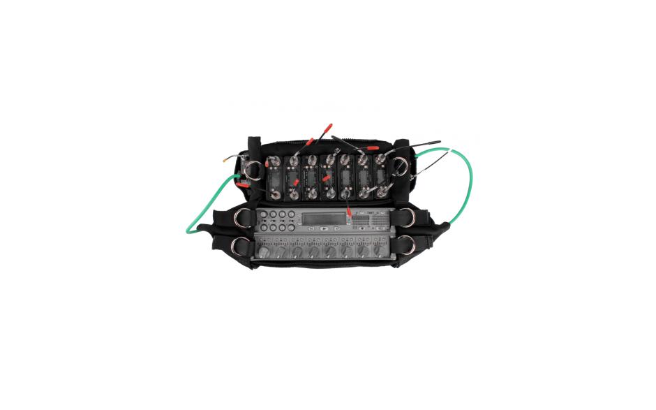 Porta Brace AR-788CLX Audio Recorder Case, Sound Devices 788, Black