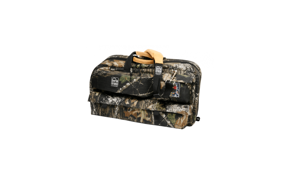Porta Brace CTC-3/MO Traveler Camera Case, Mossy Oak Camouflage, Large
