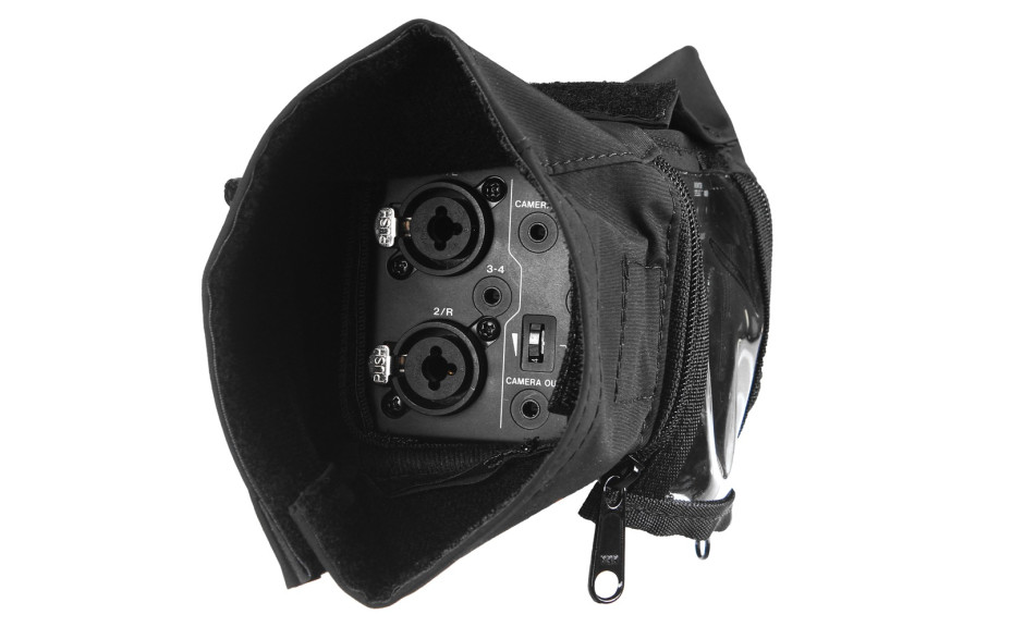 Porta Brace AR-DR60RS Audio Recorder Rain Slicker, Tascam DR-60D, Black
