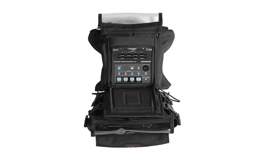 Porta Brace AR-R44 Audio Recorder Case, Edirol R44, Black