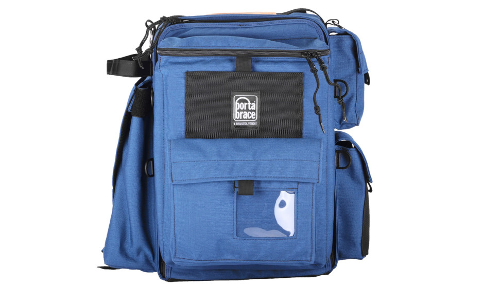 Porta Brace BC-1N Backpack Camera Case, DSLR Cameras, Small, Blue
