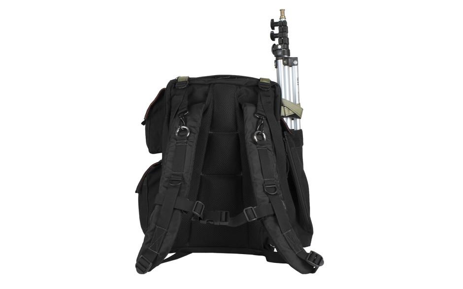 Porta Brace BC-1NR Backpack Camera Case, DSLR Cameras, Small, Black