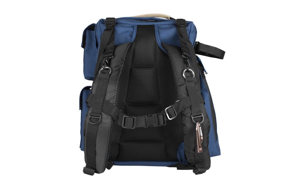 Porta Brace BK-1N Backpack Camera Case, Rigid Frame Shell, Blue