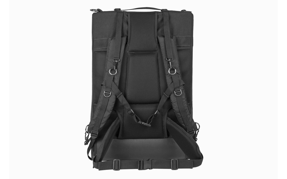 Porta Brace BK-4B Backpack, Rigid Frame & Divider Kit, XL, Black