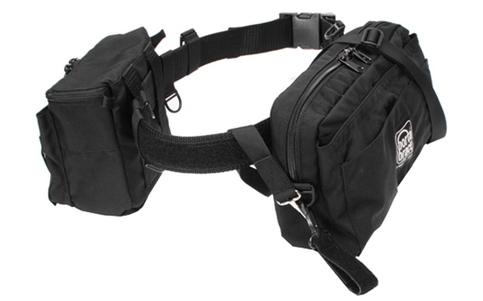 Porta Brace BP-2B Belt Pack, Black, Medium