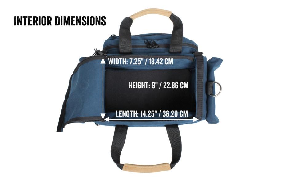 Porta Brace CAR-1 Cargo Case, Blue, Small