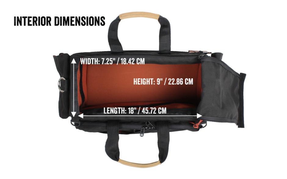 Porta Brace CAR-2B Cargo Case, Black, Medium