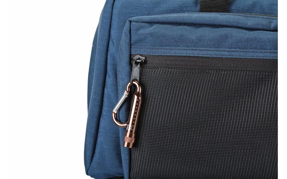 Porta Brace CARA-BRNZ5 Carabiner Clip, With Flashlight, Set of Five, Copper