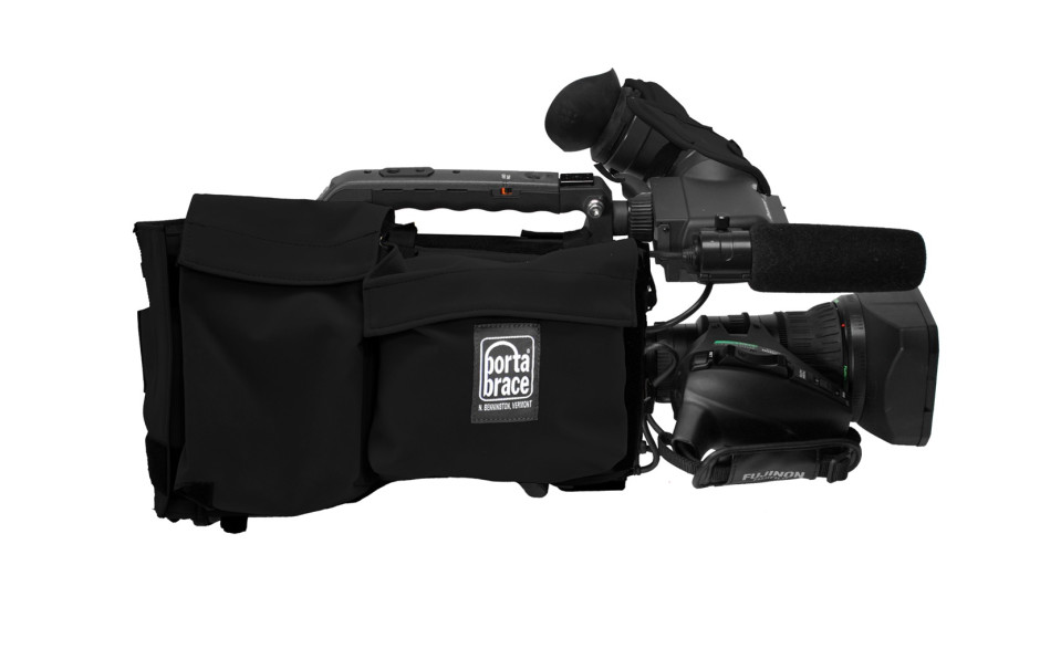 Porta Brace CBA-HPX370B Camera BodyArmor, Panasonic AG-HPX370, Black