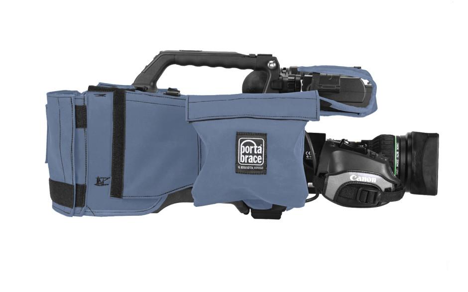 Porta Brace CBA-HPX500 Camera BodyArmor, Panasonic AG-HPX500, Blue
