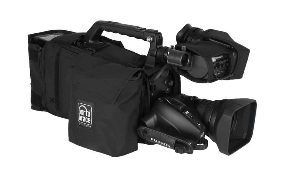 Porta Brace CBA-HPX600B Camera BodyArmor, Panasonic AG-HPX600, Black