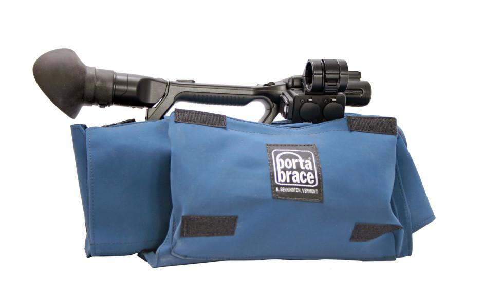 Porta Brace CBA-NX5 Camera BodyArmor, Sony HXR-NX5, Blue