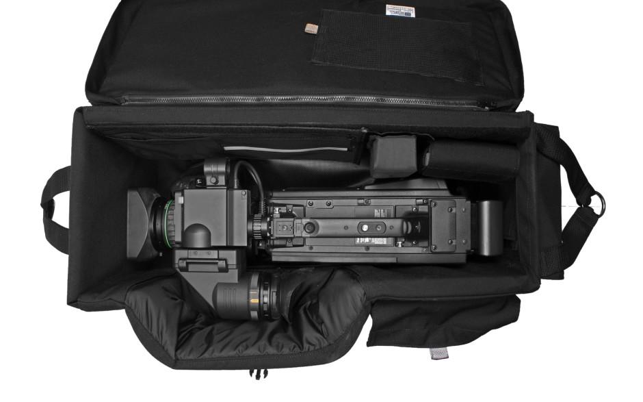 Porta Brace CC-22-PWB Quick Draw, ENG Camera Case, Rigid Frame, Black