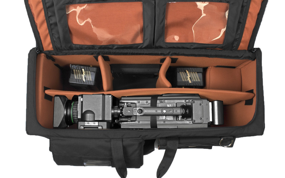 Porta Brace CC-3ENGOR Quick Draw, ENG Camera Case, Wheeled, Black