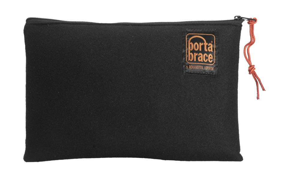 Porta Brace CC-ACC812 Padded Accessory Pouch, Set of 3, Black