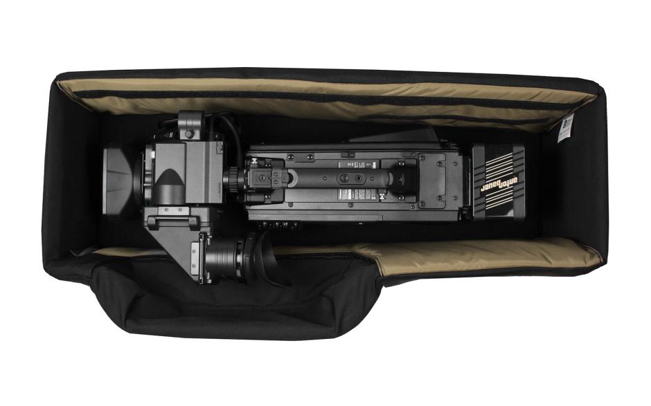 Porta Brace CC-HD1V Quick-Draw, ENG Camera Case, Rigid Frame, Blue