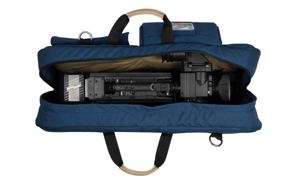 Porta Brace CO-OA-M Carry-On Camera Case, Shoulder Mount Cameras, Blue