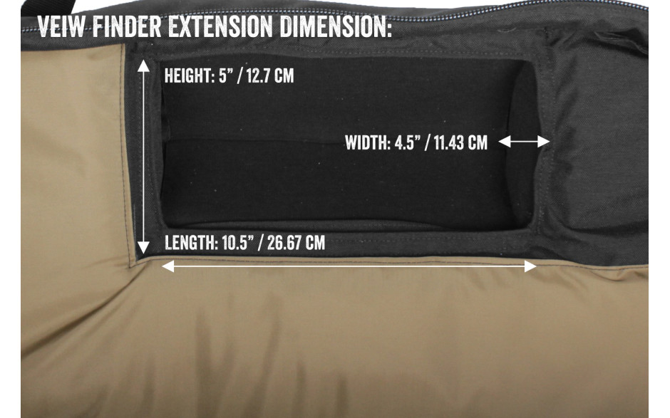 Porta Brace CO-OA-MB Carry-On Camera Case, Shoulder Mount Cameras, Black