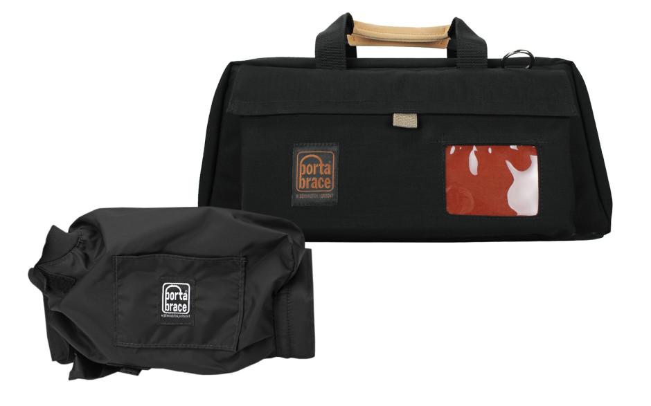 Porta Brace CS-DV3RQS-M2 Camera Case Soft, Black, Large